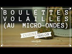 Devant l'écran - Boulette de poulet au micro-ondes | Cuisine de Salon