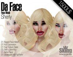 .:SKING:. Da Face / Mesh Head 1.0 / Simbian