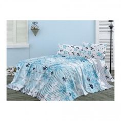 Set lenjerie pat  Seaside - Turquoise Seaside, Comforters, Turquoise, Blanket, Bed, Furniture, Home Decor, Creature Comforts, Quilts