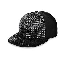 9884a86ae2350e ... Flat Hip Hop Cap Material: polyester and plastic. Pyramid design, and  it will make you feel cool. Suit for Hip Hop dancing. Mark Hua · Snapback  hats