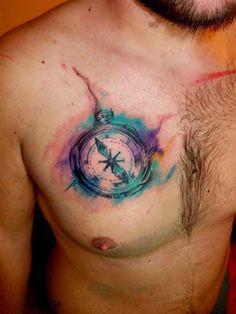 compass tattoo women - Google Search