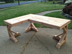 meuble bureau à domicile en bois solide