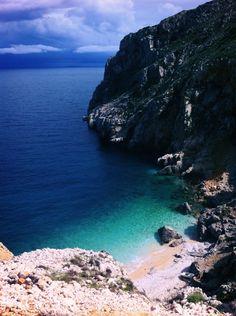 Orlec beach, island of Cres, Croatia