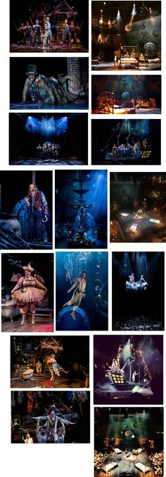 """""""Wendy, Peter, Tink, Captain Hook and the Lost Boys"""" RSC Director:Jonathan Munby Designer:Colin Richmond Lighting:Oliver Fenwick Dramaurg:Pippa Hill"""