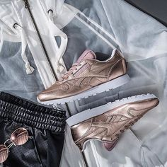 Keep on shinin' 😍The @Reebok Classic Leather and Club C Zip.  Styled by @finishline.  #reebok #fitkit    #Regram via @sportstylist
