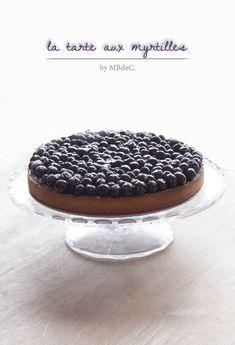 Tarte aux myrtilles (crème d'amande) – Mes brouillons de cuisine