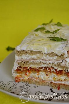 Slana torta sa tost hlebom (može i tramezin kruh)