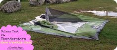 Are Tents Safe in a Thunderstorm? Tent camping in Florida; Florida Keys