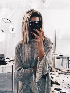 straight lob // love this hair cut { pinterest - @sydneyyball }
