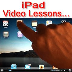Have you purchased an iPad, but don't know how to use it. Today may be your lucky day.