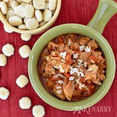 Chilly days call for comfort food, like this delicious Slow Cooker Cabbage Roll Soup recipe made with ground turkey, rice, tomatoes and chopped cabbage.