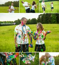 Want to do a gender reveal photo shoot like this for baby rodriguez((:
