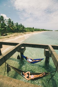 I would not mind lounging in a hammock over the ocean at all. This looks like ab.... *** Find out even more by visiting the photo