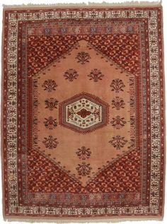 8 x 11 Vintage Turkish Wool Rug 11818