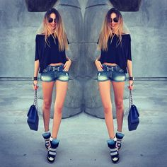 Hermes Belt Wedge Sneakers Cute Outfit Besides The Shorts