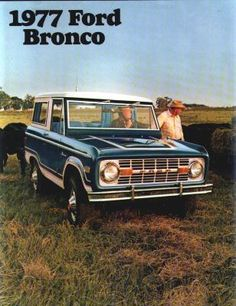 1977 Ford Bronco Brochure