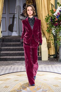 Check out Fall 2018's standout suits - Cinq à Sept Fall 2018