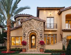 Architecture Design For Home Ideas Mediterranean Home Architecture Home Stratosphere 32 Types Of Architectural Styles For The Home modern Craftsman Etc Mediterranean House Plans, Mediterranean Style, Mediterranean Architecture, Tuscan Style, Architectural Styles, Style At Home, Home Modern, Modern Homes, Internal Courtyard
