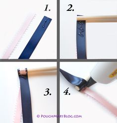 DIY Wedding Wands – Satin Ribbon.... I will be making these for my wedding. I should probably get started now!