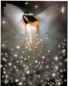 Hi5 y Myspace Glitter Graphics: Angel Video