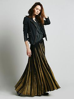 Misile Montgomery Maxi Skirt at Free People Clothing Boutique
