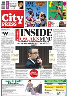 Inside Oscar Pistorius' mind - City Press