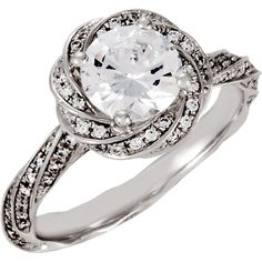 This is the one, the exact ring I want.  I wear a size 7.  Tell the boy who wants to marry me :) Semi-Mount Engagement Ring or Matching Band | Stuller.com