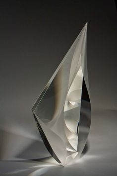 Christopher Ries (1952-), Glass Sculpture