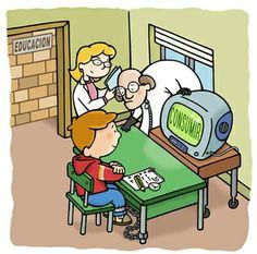 Considero que en relacion a la tecnologia es muy util para la educacion solo si se busca el yso de dicha actividda para el bien del alumno,es decir con un buen fin.