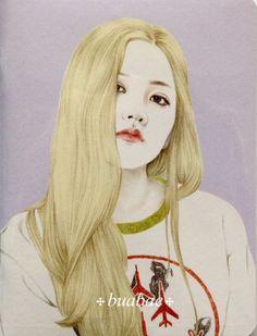 red velvet yeri Queens, Wendy Red Velvet, Kim Yerim, Kpop Fanart, Manga, Dream Big, Cute Drawings, Chibi, Disney Characters