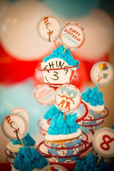 Dr. Seuss themed birthday     The Frosted Petticoat Blog