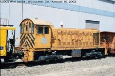 Alco S-1 #101, built May, 1942 for Western Pacific as #511.  Last owned by Yolo Short Line Railroad, no number.