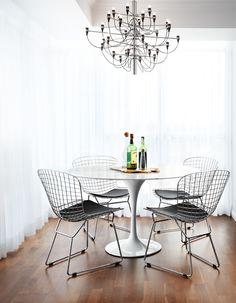 Stylish Bertoia Chair Dining Room is definitely more than just a simple chair. Lightweight, versatile, stylish and above all timeless.   Bertoia chair is the
