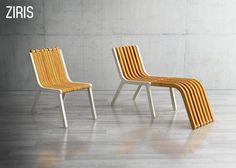 Modern Wooden Chair Called Ziris Chair Project by Redbit1 » Contemporary wooden furniture concept: Ziris chair by Redbit post photo