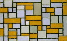 Piet Mondrian and the Golden Ratio