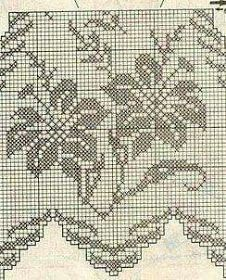 Alinti Kira scheme crochet: Scheme crochet no. Filet Crochet Charts, Crochet Borders, Crochet Cross, Crochet Motif, Crochet Shawl, Crochet Doilies, Crochet Lace, Crochet Stitches, Crochet Patterns