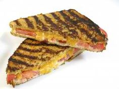 Skinny Tuna Melt-This skinny fiber-rich melt is made water packed tuna, reduced-fat mayo, cheese and tomato, then grilled with a reduced-fat spread. Adding sweet pickle relish not only taste good it allows you to use much less mayo. On sandwich has 382 calories and 10 grams of fat.