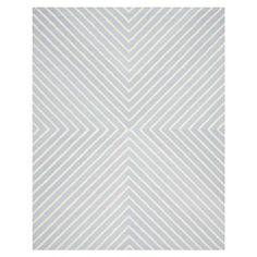 Prita Textured Area Rug, Light Blue/Ivory - Choose Size | ACHICA