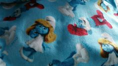 Smurf,  Throw Blanket, Fleece, Home Decor, Bedroom, Accessory, - pinned by pin4etsy.com