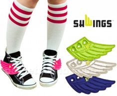 Shwings: WINGS THAT MAKE YOUR ALREADY-FLY SHOES SOAR!