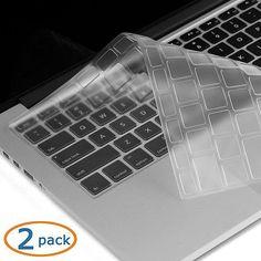 2x Ultra Thin Clear TPU Keyboard Cover Skin for Macbook Air Pro/Retina 13'' 15''