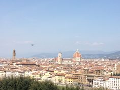 Vista di Firenze dal Piazzale Michelangelo. View of #Florence from Piazzale Michelangelo. If you want to visit Florence, stay in stay in our B&B more info: info@bbfirenzemartini.it - http://www.bbfirenzemartini.it/