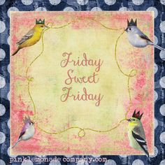#Friday, #sweet Friday ♥ lots of love from www.very.co.uk x