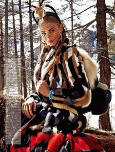 Gracing the pages of Vogue Japan's November 2015 issue, model Anna Selezneva joins Noma Han for a nomadic themed editorial captured by Giampaolo Sgura. Styled by Anna Dello Russo, the Russian beauty sports luxe furs and outerwear from top brands including DSquared2, Valentino and Tom Ford. Related: Anna Selezneva is On Trend for Beymen Club's …