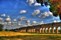 Parco degli acquedotti (Aqueduct Park) in Rome: in other words, WOW... must. go. back.