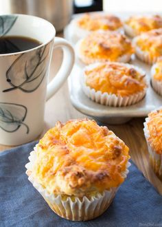 These easy breakfast muffins taste like ham, egg, and cheese biscuits. They are perfect for busy morning when you don't have time to cook but want to serve a hot, homemade meal.