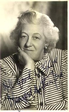 British Actor - Margaret Rutherford (1892-1972). Played Agatha Christie's sleuth. Awesome Actress!!!!