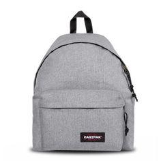 Eastpak Padded Pak'R Sac à dos, 40 cm, 24 L, Gris (Sunday Grey) Backpack Outfit, Mini Backpack, Fashion Backpack, Trendy Backpacks, School Backpacks, Large Leather Tote Bag, Leather Backpack, Sac College, Unisex