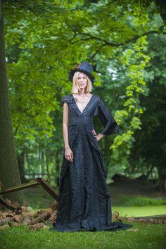Eindcollectie opleiding Modevormgever 2013-2014 #syntrawest Ontwerp: Amber Cavens - Foto Devid Camerynck