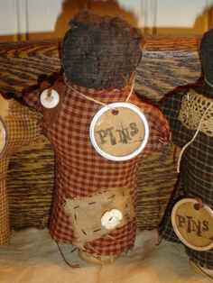 Primitive Pin Keep Doll 2